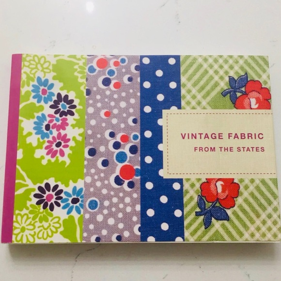 Vintage Fabric Book from the States NEW